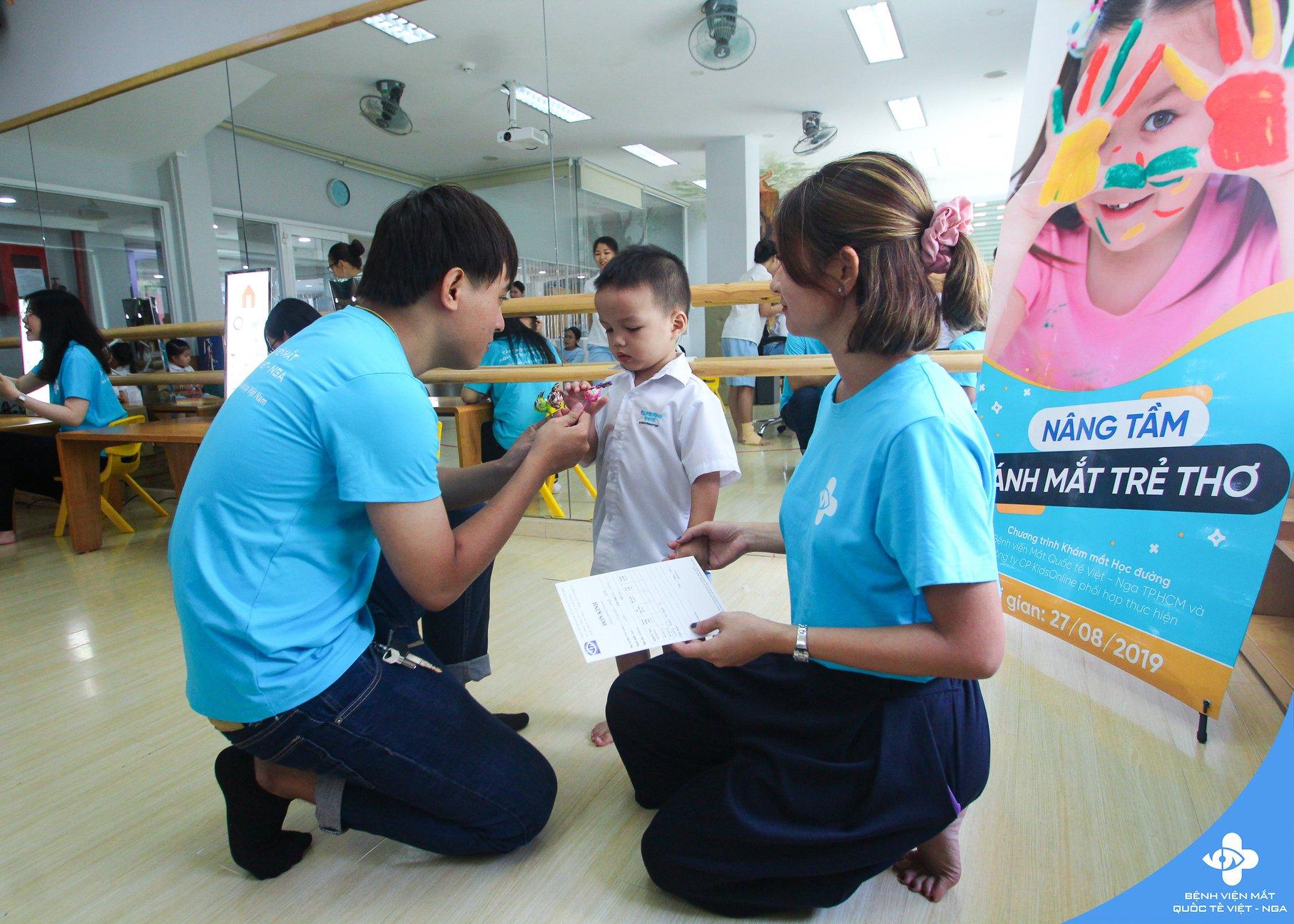 Chương trình Nâng tầm ánh mắt trẻ thơ chính thức triển khai