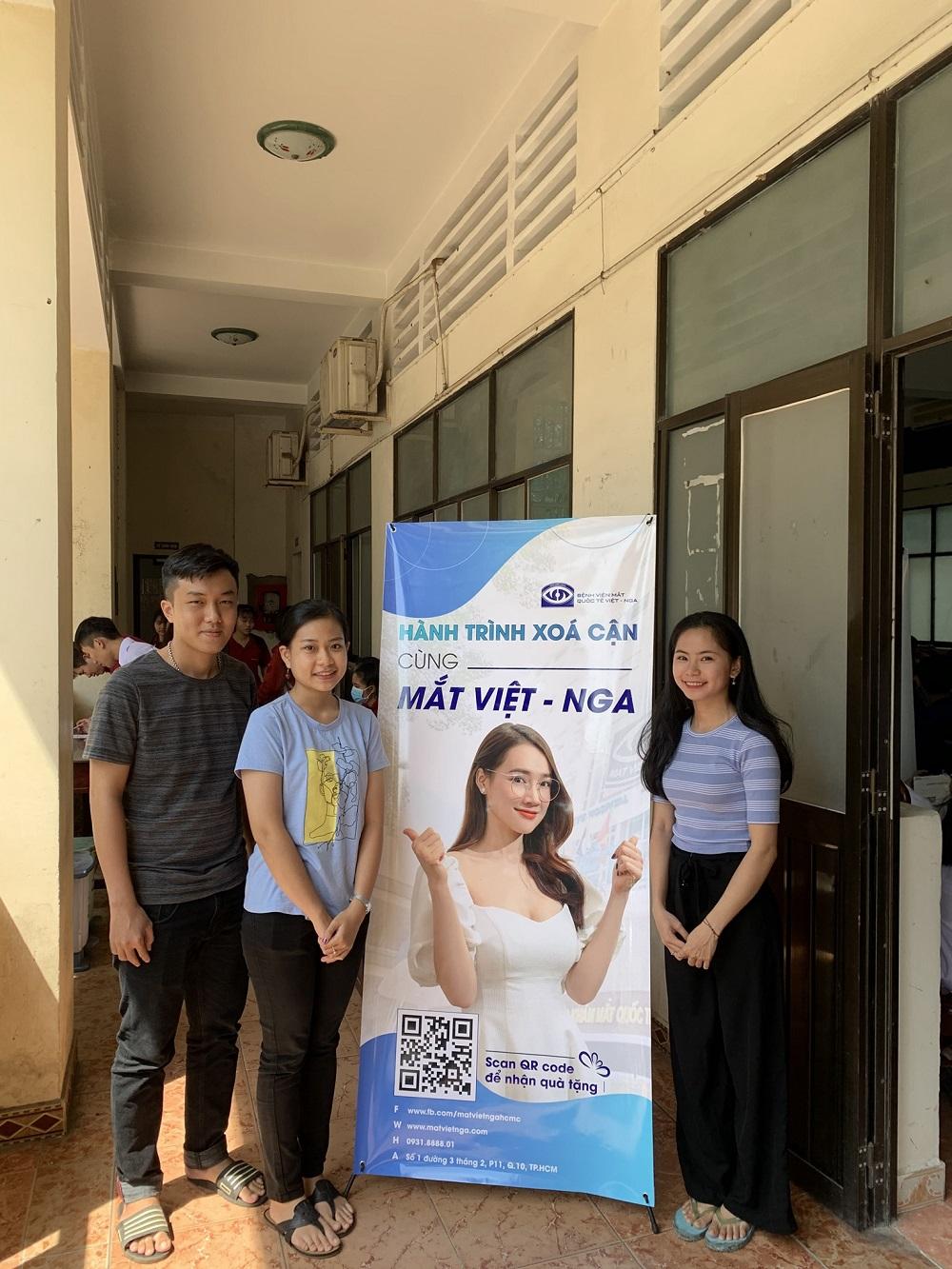 Hành trình Xóa cận cùng Mắt Việt - Nga tại Học viện Hành chính Quốc Gia