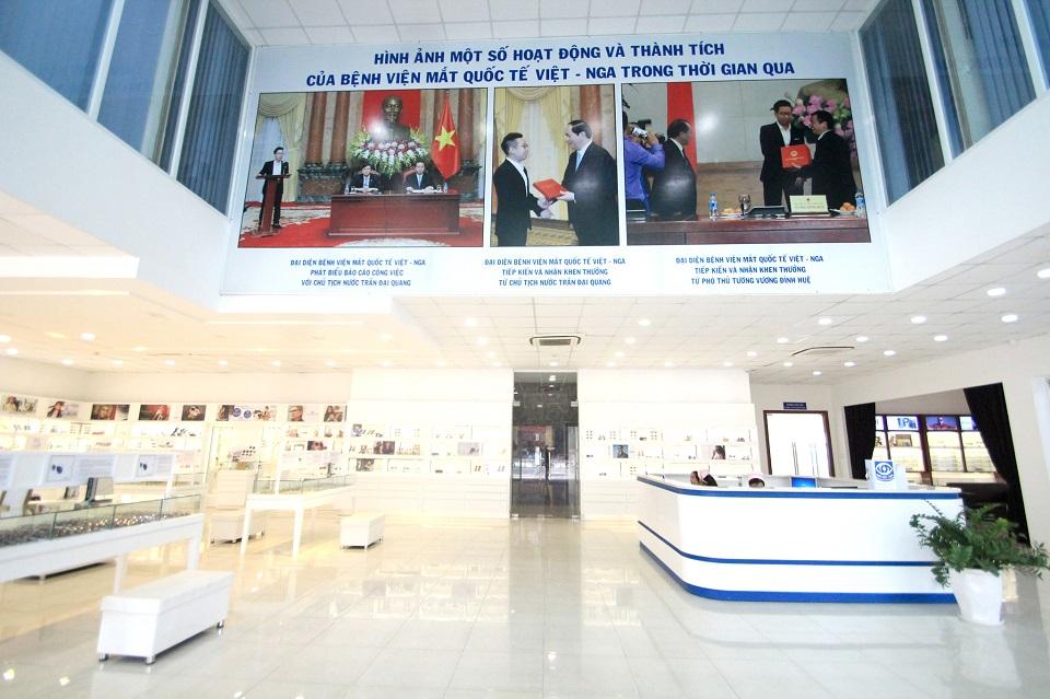 Bệnh viện Mắt Quốc tế Việt-Nga TP.HCM dẫn đầu bảng xếp hạng các bệnh viện chuyên khoa Mắt tại Tp. HCM