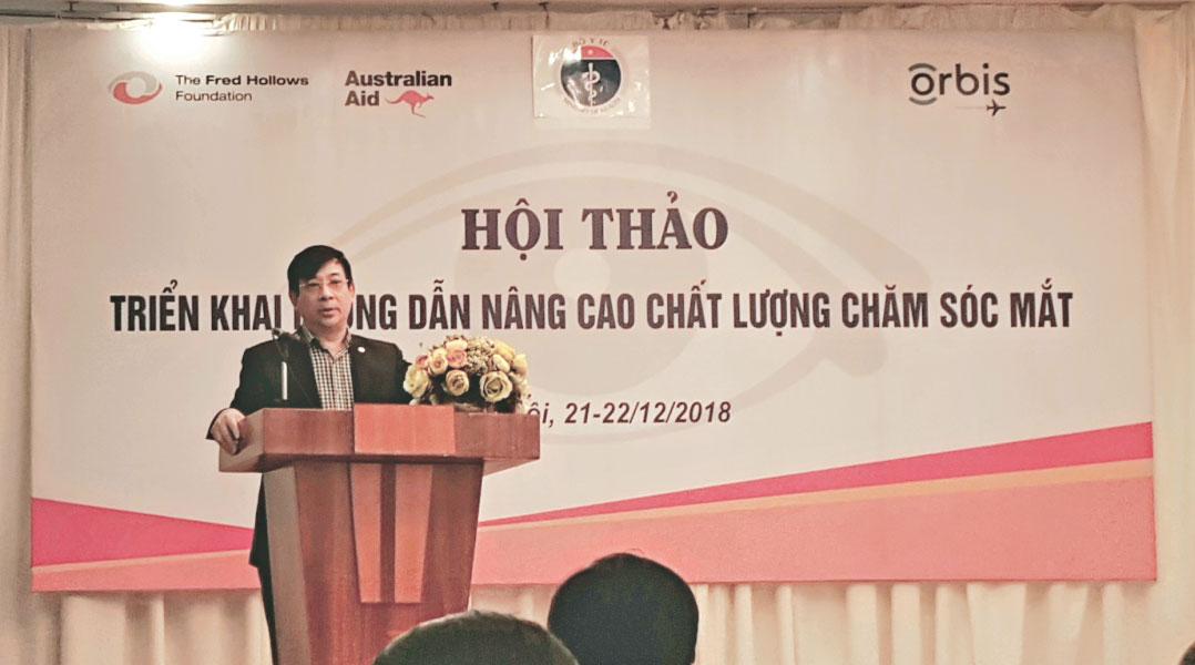 Bệnh viện Mắt Quốc tế Việt - Nga tham gia Hội thảo Nâng cao chất lượng chăm sóc Mắt tại Việt Nam