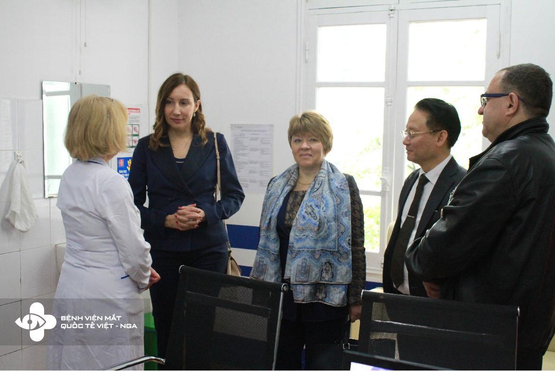 Thứ Trưởng Bộ Y Tế Liên Bang Nga thăm Bệnh Viện Mắt Quốc Tế Việt – Nga