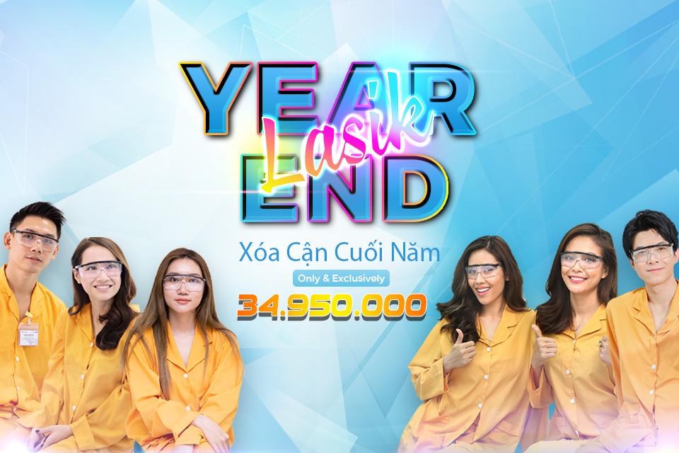 LASIK YEAR END - ƯU ĐÃI LỚN XÓA CẬN CUỐI NĂM 2019