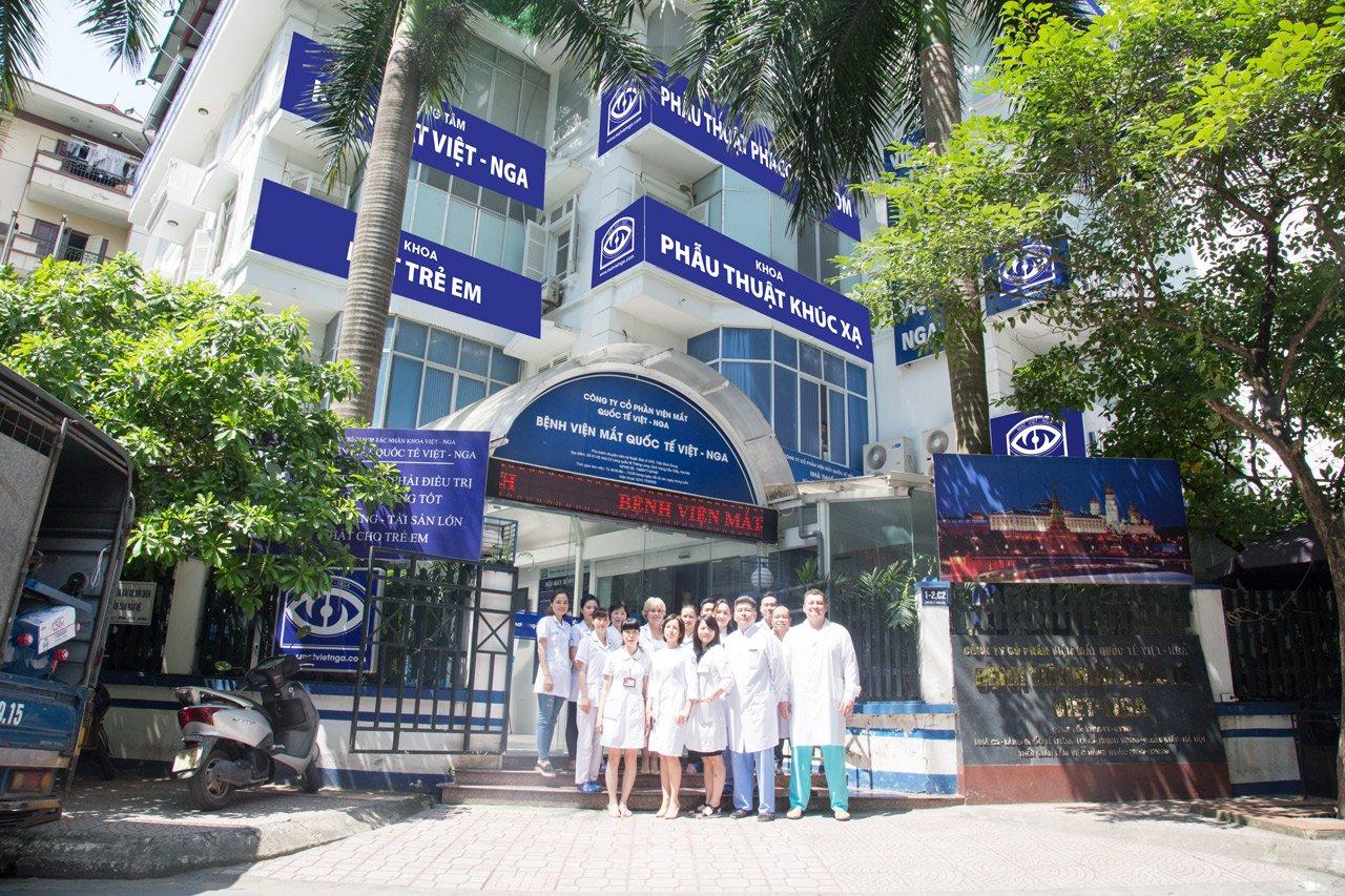 Tại sao chọn Bệnh viện Mắt Quốc tế Việt - Nga?